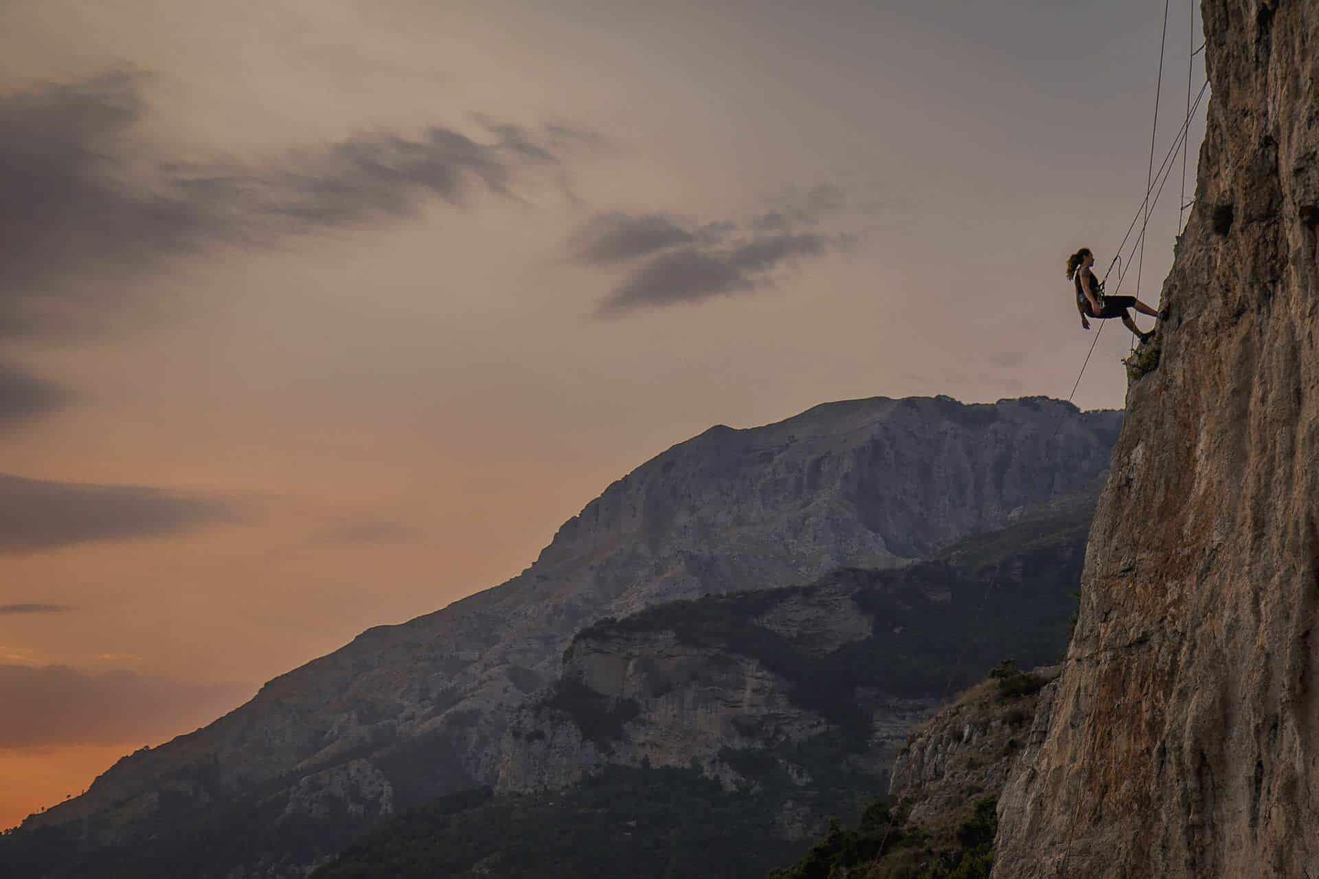 climbing in Campania