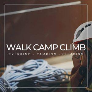 esperienze outdoor camping trekking climbing
